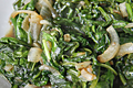 How To Make Sauteed Spinach And Onions