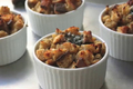 Savory Gorgonzola Cheese Bread Pudding
