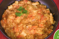 Potato and Pear Stew with Lentils