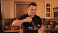 "Johnny Rich Health Show ""No Excuses""  Segment: Exercise, Salmon with Carmelized Cherries Video"