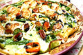 Korean Food: Seafood and Green onion Pancake ( )