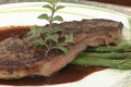How To Make Seared Seasoned Beef Sirloin Filet With Garlic Chianti Pan Sauce
