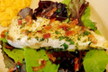 How To Make Seared Halibut With Warm Bacon Dressing