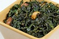 How To Make Seasoned Kale with Nuts