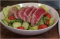 How To Make Seared Tuna Crusted With Wasabi And Sesame Seeds