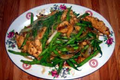How To Make Wegmans Sesame Chicken With Lo Mein & Green Beans