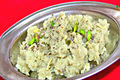 Shakarkandi Halwa or Shakarkand Sheera for Upvas - Sweet Potato Pudding for Fasting 
