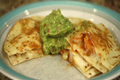Grilled Shrimp Quesadilla With Chipotle Sauce by Rockin Robin
