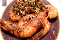 Shrimp (Salad) : Grilled Shirmp w/Bulgogi Sauce & Lemony Gochujang Dressing : CHOPCHOP