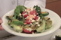 How To Make Healthy Shrimp Salad With Grilled Lettuce