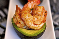 Spicy Shrimp Stuffed Avocado