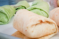 Smoked Chicken Breast Wraps