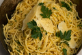 How To Make Spaghetti With Parsley And Parmesan