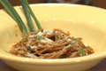 How To Make Spaghetti With Green Onions And Pasta Sauce