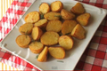 How To Make Crusty Yellow Roasted Potatoes