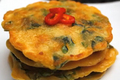 Spicy Korean Spinach Pancakes