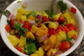 How To Make Spicy Mango Pineapple Salsa