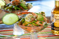 Spicy Mexican Shrimp & Avocado Cocktail