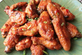 Spicy Peanut Butter Jelly Chicken Wings