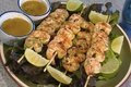 How To Make Lime And Jalapeno Shrimp Skewers