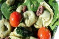 How To Make Spinach And Tortellini Salad