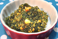 How To Make Spinach And Peanut Bhaji