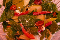 Springtime Sweet-Savory Spinach-Pecan Salad