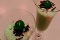 St. Patrick's Day Creamy Sweet Grasshopper Drink