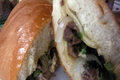 Philly Steak and Cheese Sandwich