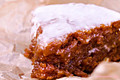 Gluten Free & Vegan Sticky Carrot Cake