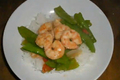 Stir Fried Shrimps with Snow Peas