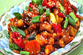 How To Make Stir-fried Spicy Small Octopus (  )