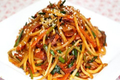 Korean Food: Spicy Fried Udon Noodles