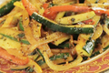 How To Make Stir Fried Zucchini And Bell Pepper