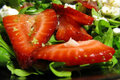 How To Make Strawberry Tomato Arugula Salad