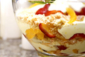 Pear Strawberry Trifle