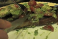 How To Make Beef Strip Steak With Chunky Guacamole Salsa