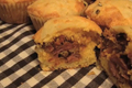 Superbowl Bbq Pork Stuffed Corn Muffins