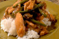 Sweet Gingered Chicken and Green Bean Stir Fry