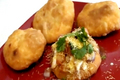 How To Make Khasta Kachori And Chaat - Dal Puri Or Daal Poori