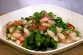 Tender Asparagus Spears with Cannellini Bean Sauce