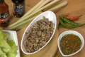How To Make Thai Chicken And Lettuce Wrap