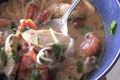 Thai Spicy Sour Soup - Tom Yum Goong