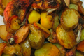 Roasted Greek Chicken With Potatoes