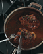 Braised Turkey Thighs with Currants