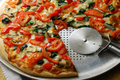 How To Make Homemade Organic Vegetarian Pizza