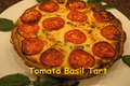 How To Make Italian Tomato Ricotta And Basil Tart