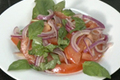 How To Make Tomato Onion Basil Salad
