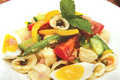 Tuna Green Bean Pasta and Tomato Salad