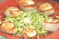 How To Make Tony Caputo's Leek And Scallop Salad